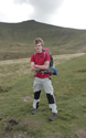 Alex Staniforth training for his trip to climb Baruntse. Click for bigger image.