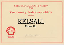 Community Pride Competition 2008 - Kelsall (runner-up)