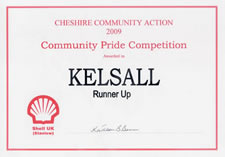 Community Pride Competition 2009 - Kelsall (runner-up)