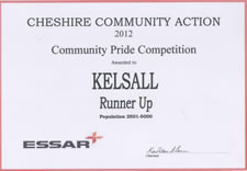 Community Pride Competition 2012 - Kelsall (runner-up)