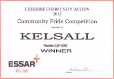 Community Pride Competition 2013 - Kelsall (winner)