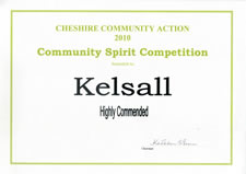 Community Spirit Competition 2010 - Kelsall (highly commended)