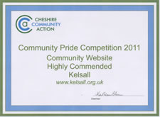 Community Website Competition 2011 - Highly Commended