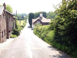 Yeld Lane and Waste Lane were originally 'surveyors roads'. Photo courtesy Mike Ford (Farmers Arms). Click image for bigger size.